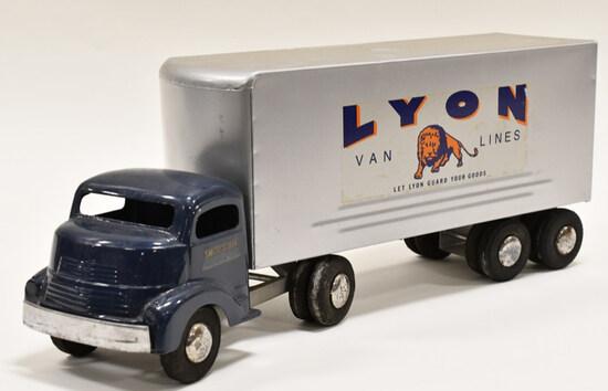 Smith Miller GMC Lyon Van Lines Truck and Trailer