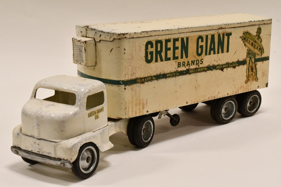 Tonka Private Label Green Giant Truck and Trailer