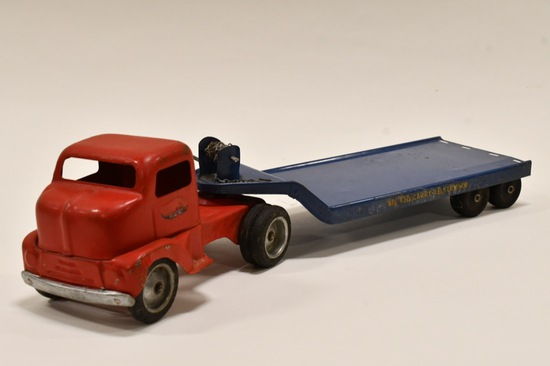 Tonka Truck w/ No. 130 Carry-All Trailer