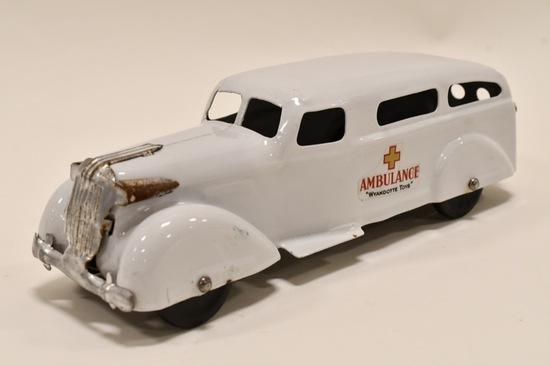 Restored Wyandotte Toys Ambulance