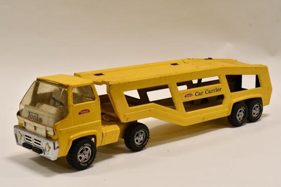 Tonka Car Carrier Truck and Trailer