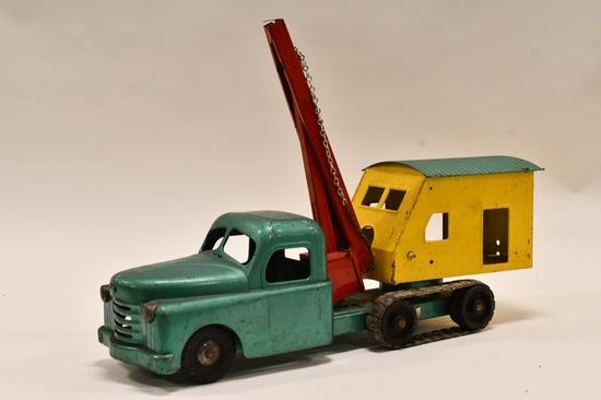 Structo Construction Mobile Steam Shovel Truck