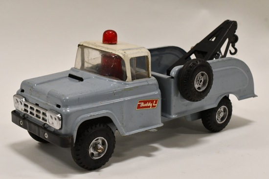 Buddy L Wrecker Truck w/ Front Suspension