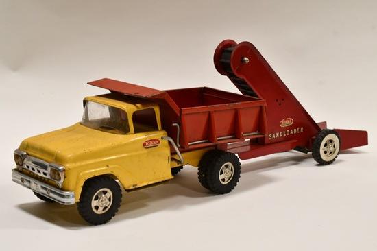 Original Tonka Dump Truck with Sand Loader