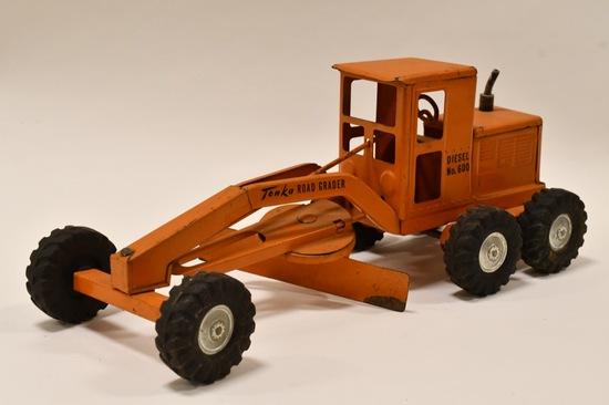 Original Tonka Road Grader Diesel No. 600