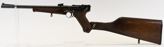 DWM Model 1920 Luger Carbine With Stock
