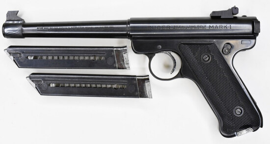 Ruger Mark I .22 Long Rifle Semi-Automatic Pistol