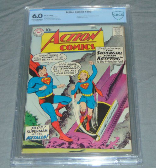 Action #252 CBCS Graded.