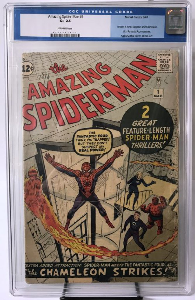 Marvel, Amazing Spider-Man #1, CGC 2.5