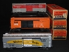 3 Boxed Lionel Boxcars