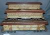 3 Rare The Royal Blue Line Paper Litho Trains