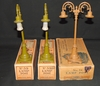 3 Boxed Lionel Lampposts, 1 Scarce