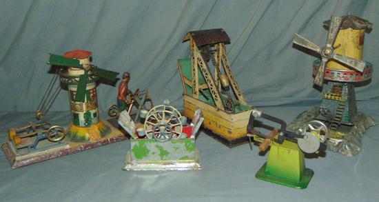 5 German Live Steam Toys