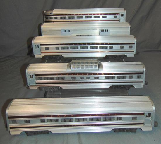5pc Lionel Congressional Passenger Cars