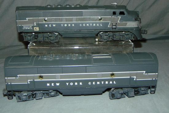 Lionel 2344T & 2344C NYC F3 BA