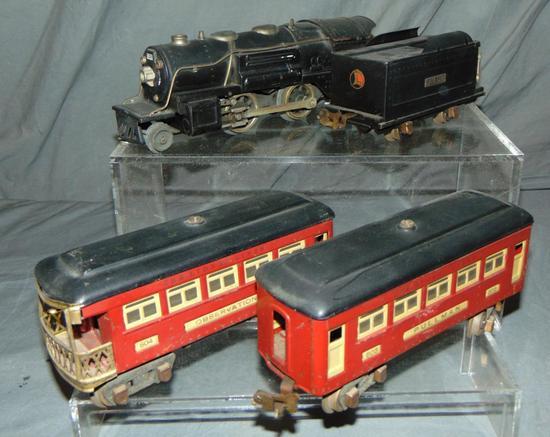 Clean Lionel 259E Passenger Set