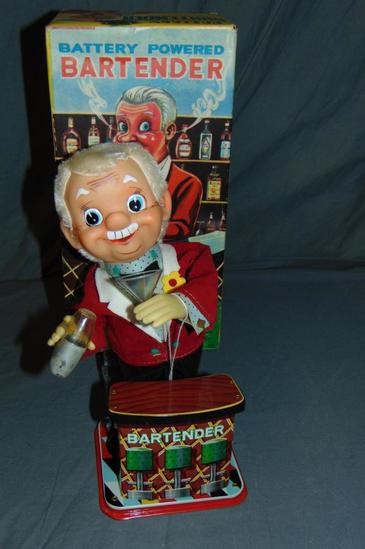 Boxed Battery Operated Rosko Bartender