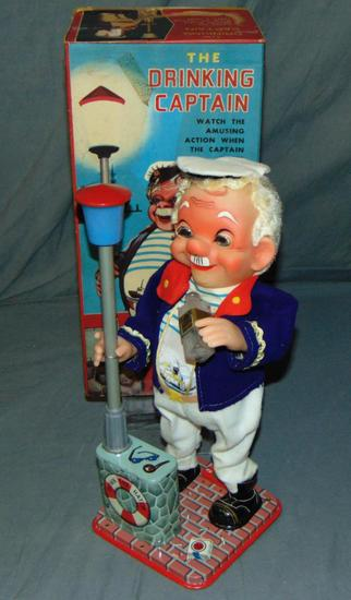 Boxed Battery Operated Drinking Captain
