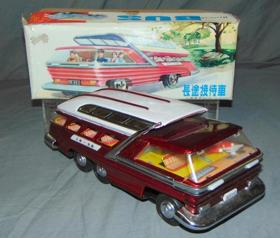Boxed Battery Operated Mystery Bus