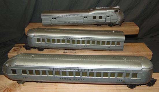 Early Lionel City Of Portland Streamliner (751E)