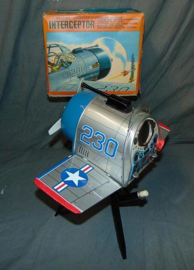 Japanese Interceptor Airplane Toy.