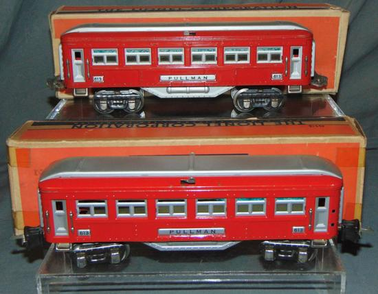 2 Boxed Scarce Lionel 613 Pullmans