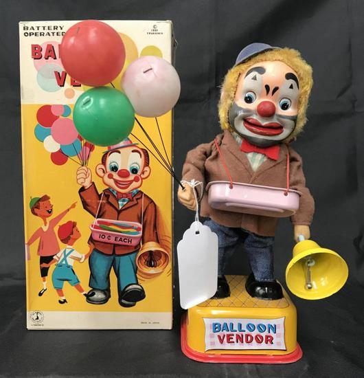 Boxed Battery Operated Balloon Vendor
