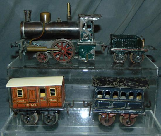 Early Bing Live Steam Train Set