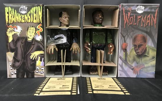 Universal Monsters Wind Ups Boxed.