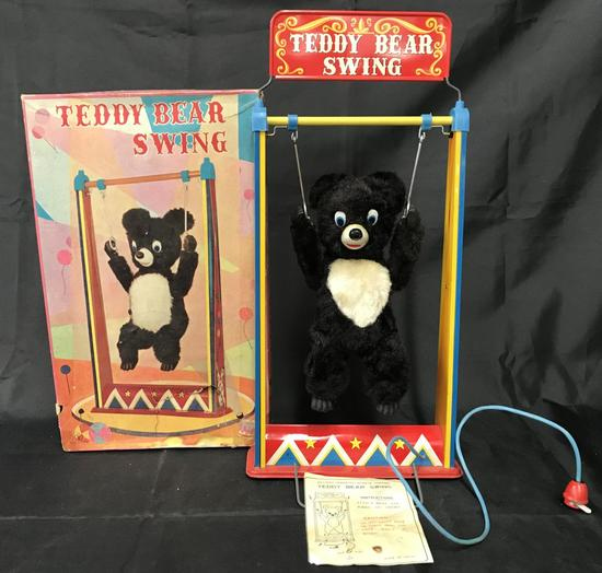Teddy Bear Swing Battery Operated Toy.