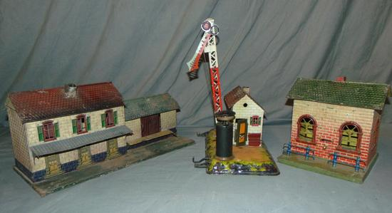 3 Early Bing Train Accessories