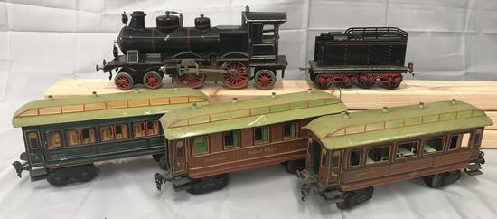 Early Marklin Steam Passenger Set