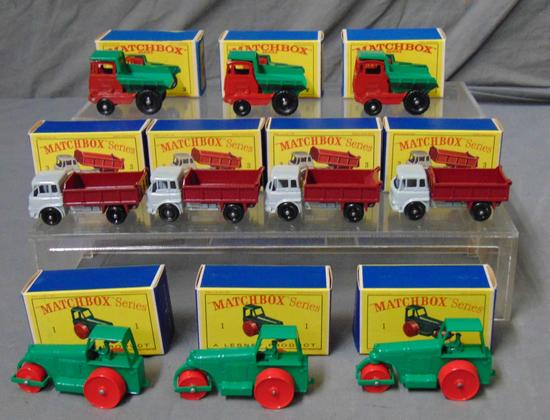 Matchbox Store Stock Lot of Ten Boxed.