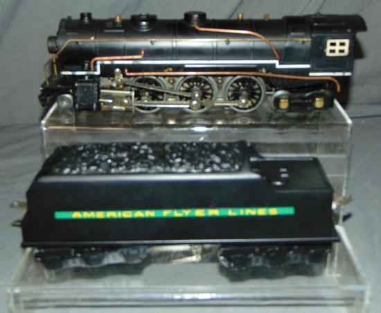 Partially Restored American Flyer 1680 Locomotive