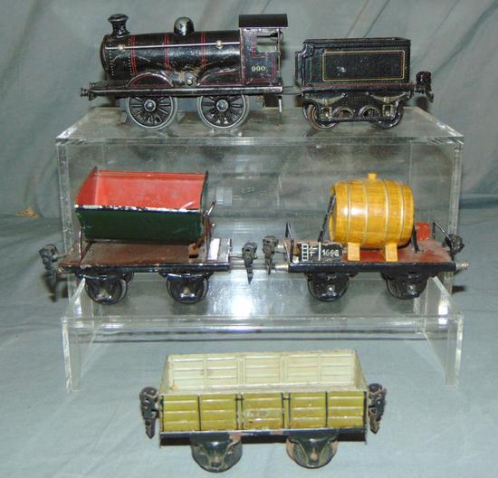 5Pc Marklin O Ga Train Set