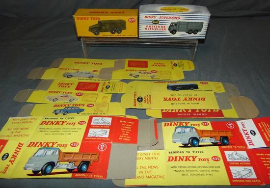 Dinky Toy. Empty Box Lot.