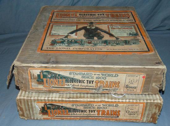 2 Scarce Lionel EMPTY Set Boxes #169