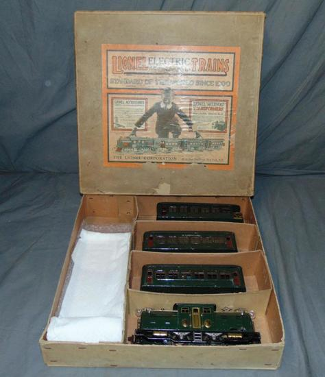Boxed Early Lionel Set 266