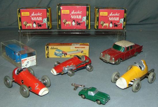 Large Group of Schuco Toys