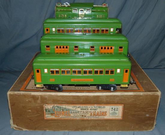 Super Boxed Lionel ST GA Set 342