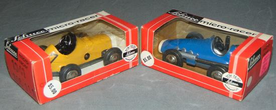 2 Boxed Schuco Micro-Racers