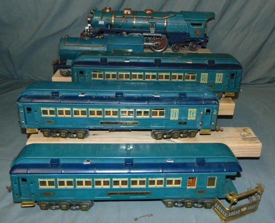 Lionel ST GA Blue Comet Set, TLC