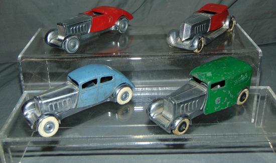 4 Pre War Solido Vehicles