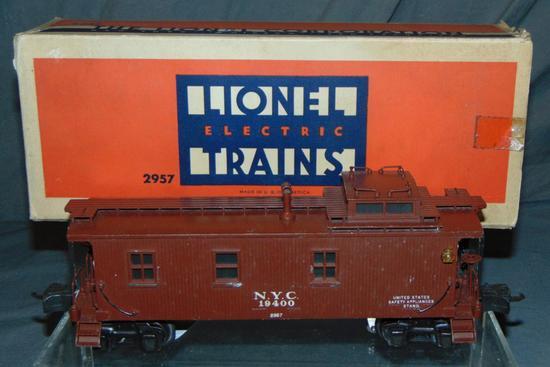 Boxed Lionel 2957 Semi-Scale Caboose