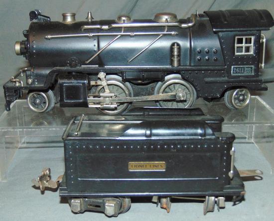 Clean Lionel 261E Steam Loco