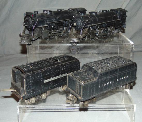 Lionel 224 & 225E Steam Locos