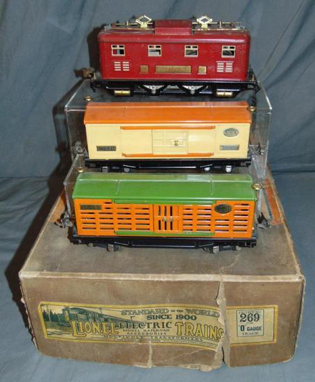 Partial Boxed Lionel Set 269