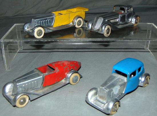 4 Pre War Solido Vehicles