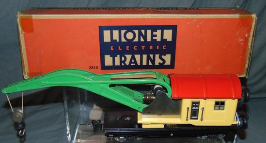Super Boxed Lionel 2810 Crane