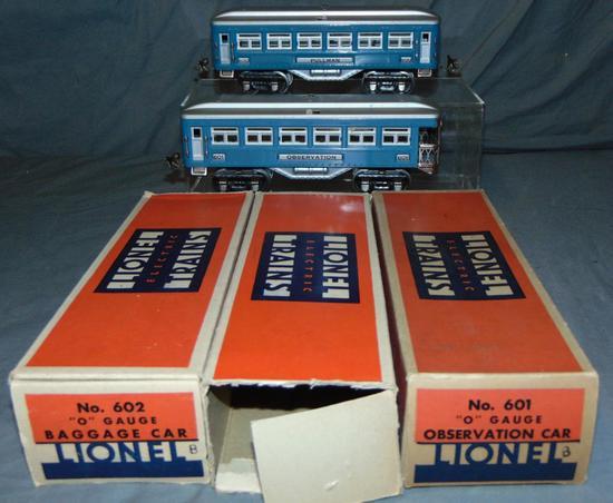 Lionel 600 Passenger Cars, 3 Boxes